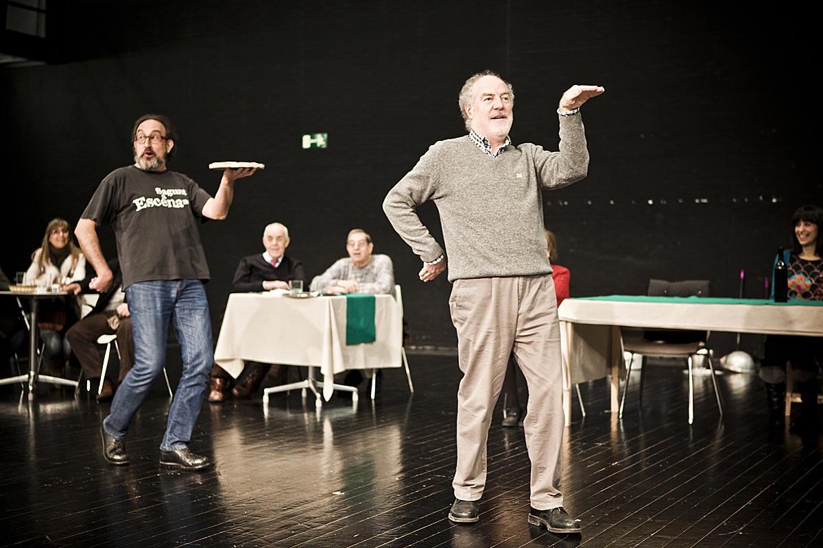 Jesús Agelet y Luis Álvarez en El Pimiento Verdi