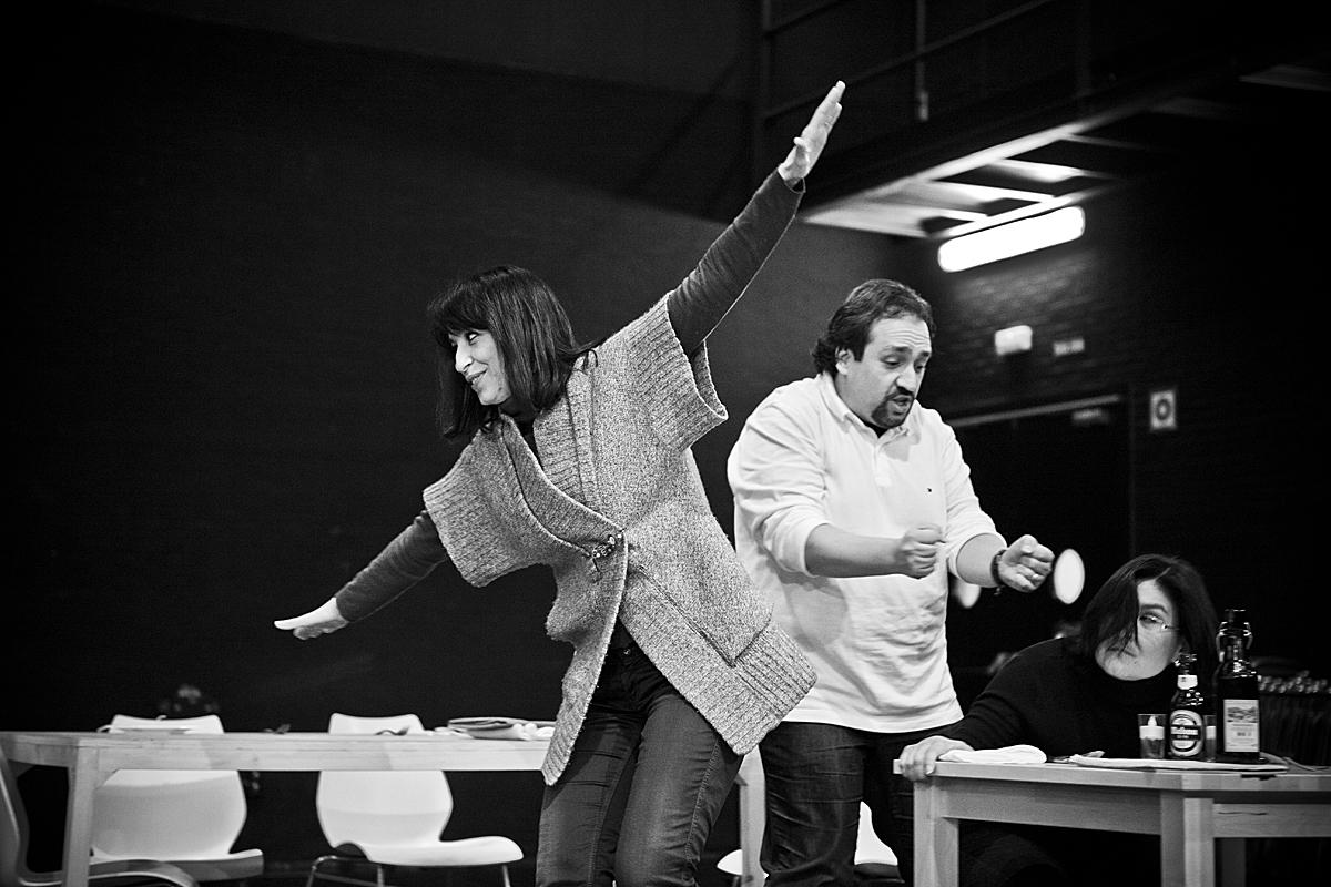 José Manuel Zapata y María Rey-Joly en El Pimiento Verdi