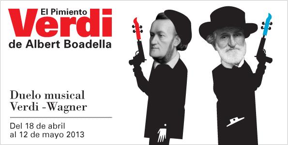 El Pimiento Verdi. Albert Boadella. Teatros del Canal
