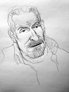 Dibujo de Iván Solbes