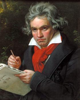 Compositores-de-musica-clasica-Ludwig-van-Beethoven