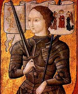 juana-de-arco mujeres en la historia