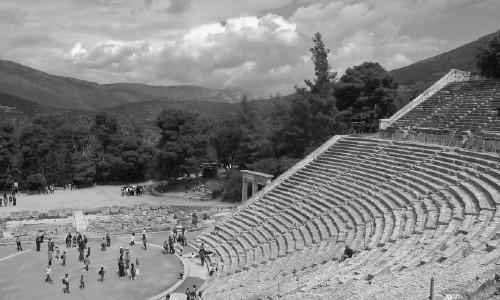 Teatro de Epidauro en Grecia